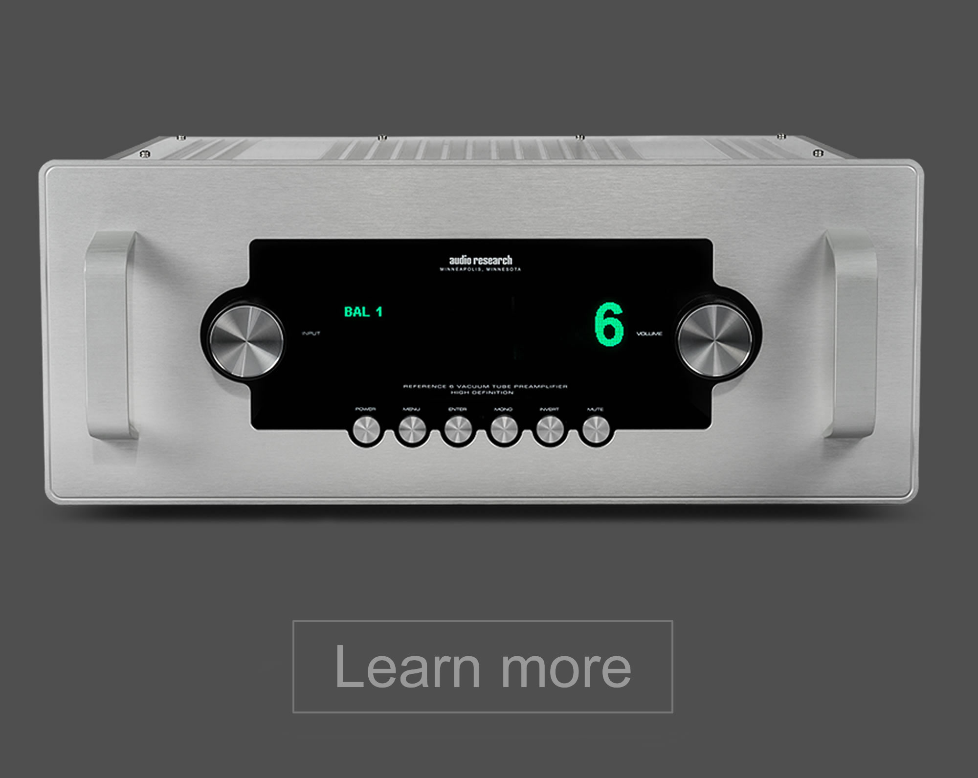 Audio Research Ref 6 preamplifier