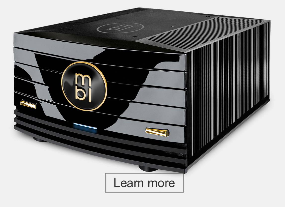 MBL 9008A Mono/Stereo Power Amplifier